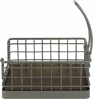 Spectrum Napkin Holder One Gray