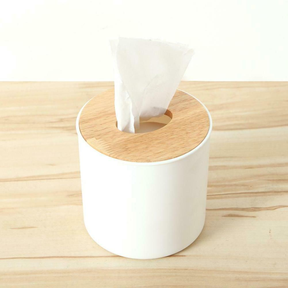 Wooden Tissue Home Tissue Container
