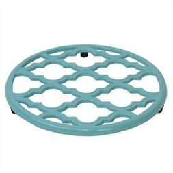 lattice collection cast iron pot holder trivet