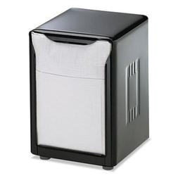 Lowfold Tabletop Napkin Dispenser, Black, Each