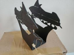Maine Metal Crafters Snowmobile Napkin Holder NEW Made in Ma