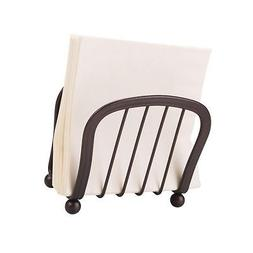 mDesign Modern Decorative Paper Napkin Holder for Kitchen Co