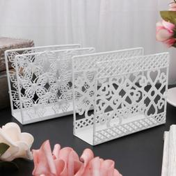 Metal Napkin Serviette Holder Dispenser Paper Tissue Rack Ho