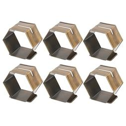 DII Modern Chic Place Card Holder Napkin Rings for Wedding R