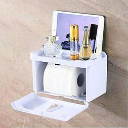 Multifunctional Wall Mounted Toilet Tissue Box Bathroom Wate