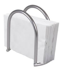 Home Basics Napkin Holder, Satin Nickel Simplicity Collectio