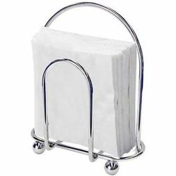 Home Basics Wire Collection Napkin Holder, Silver Chrome