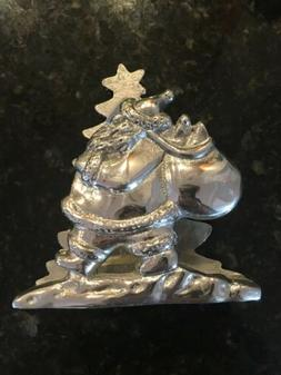 napkin holder santa christmas tree