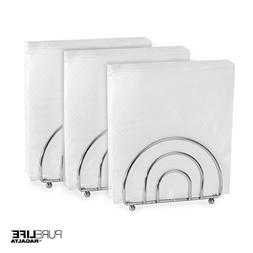 Napkin Holder Set for Tables by PureLife | Double Coating Ch