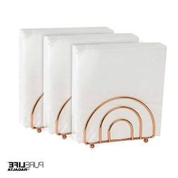 Napkin Holder Set for Tables by PureLife | Double Coating Co
