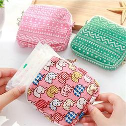 NEW! Sanitary Towel Napkin Pad tampon Purse Holder Case Bag
