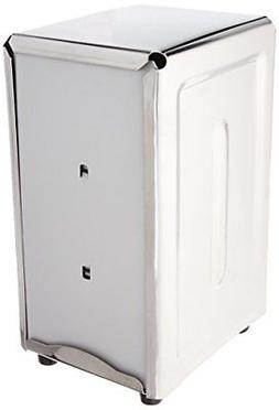 New Star 24074 Stainless Steel Tall Fold Napkin Dispenser 3.