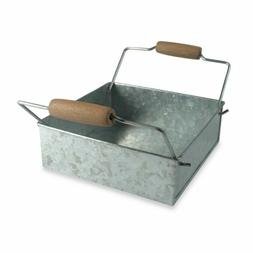 ARTLAND OASIS NAPKIN HOLDER,GALVANIZED ,CHINA