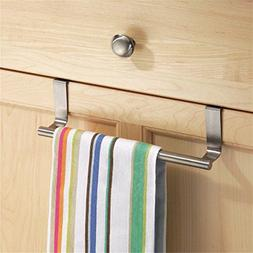 Dynabit Over Cabinet Kitchen Dish Towel Bar Hanger,Brushed S