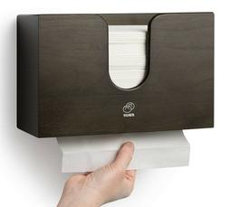 Wooden Paper Towel Dispenser for Kitchen & Bathroom - Wall M