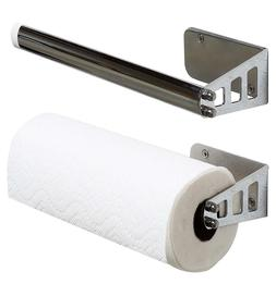 Paper Towel Holder Chrome For Kitchen Bathroom Wall Mount Un