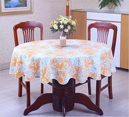 LPPYrrydk Pastoral Plastic Tablecloth Waterproof PVC Floral