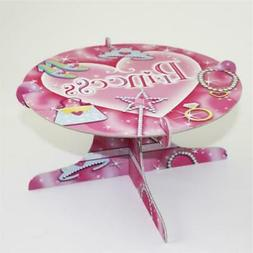 Pink Princess Cake Stand Party Accessory Cup Cake Holder