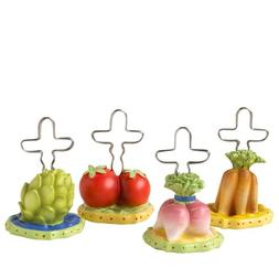 Pfaltzgraff Pistoulet Place Card Holders, Set of 4