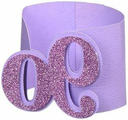 purple 90 napkin holders 12pcs