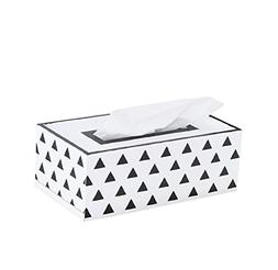 Toshine Rectangular Tissue Box Cover Wooden Nordic Style Tis