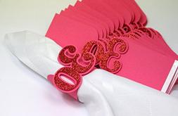 All About Details Red 30 Napkin Holders, 12pcs