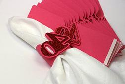 All About Details Red 40 Napkin Holders, 12pcs