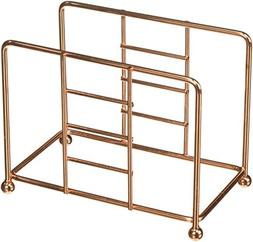 Creative Home Renaissance Copper Plated Napkin Holder, Dispe