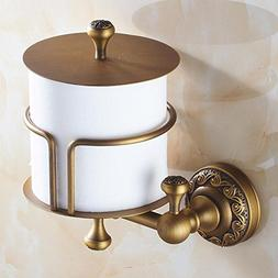 All Retro Fabrics Bronze Door-Roll Of Toilet Paper Door Wall