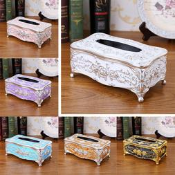 retro style tissue box napkin holder paper