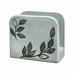 Pfaltzgraff Rustic Leaves Napkin Holder