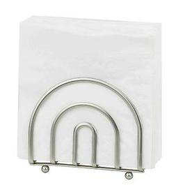 Home Basics Satin Nickel Collection Napkin Holder