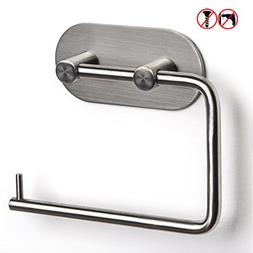 BESy Self Adhesive Toilet Paper Holder,SUS 304 Stainless Ste