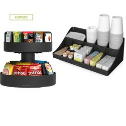 Mind Reader SNACOMORG-BLK Coffee Condiment and Snack Organiz