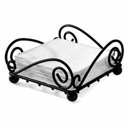 spectrum diversified scroll flat napkin holder