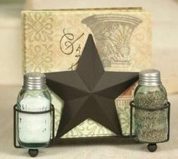 Star Salt Pepper and Napkin Caddyholder