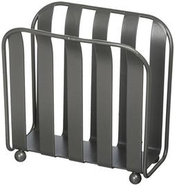 Spectrum Diversified Stripe Napkin Holder, Industrial Gray