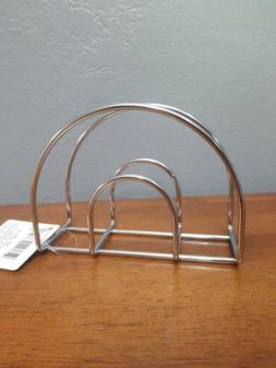 Table Napkin Holder Wire Chrome Metal Dinner Lunch Dinning R