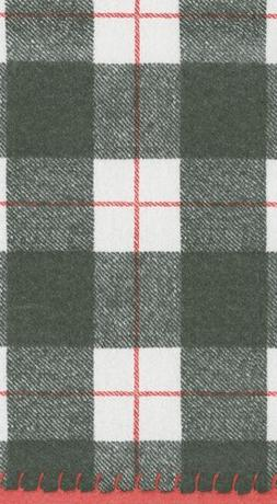 Caspari Tartan Plaid Christmas Decor Paper Guest Towels Chri