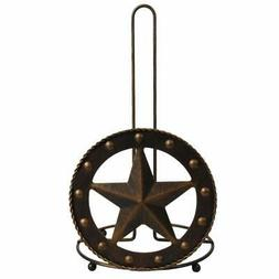 Texas Towel Paper Holder Rustic Barn Vintage Home Crafts Toi