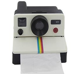 FunnyToday365 Camera Style Tissue Boxes Home Paper Napkin Ho