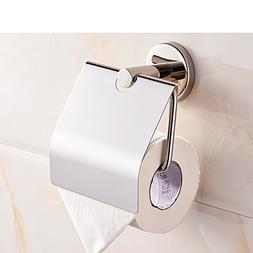 IWQTO Toilet paper holder Their 304 Stainless steel Roll rac