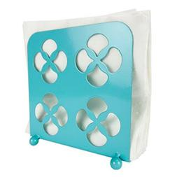 Home Basics  Trinity Collection Turquoise Tabletop Napkin Ho