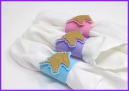 All About Details Unicorn Napkin Holders, Unicorn Theme Part