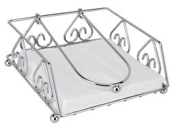 Uniware Stainless Steel Napkin Holder, Size 7.5 x 7.5 x 3 In