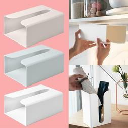 Wall-mounted Paper Towel Holder Toilet Tissue Box Paper Napk