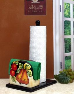 Winter Fruit Paper Towel and Napkin Holder