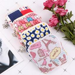 Women Sanitary Towel Napkin Pad Tampon Purse Holder Case Bag