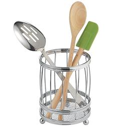 InterDesign York Lyra Utensil, Spatula, Silverware Holder fo